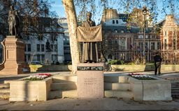 Statue de Millicent Fawcett, Londres, R-U photos libres de droits