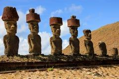 Statue de Moai Images stock