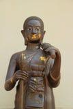 Statue de moine Images libres de droits