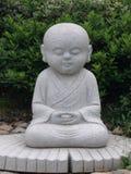 Statue de moine bouddhiste photo libre de droits