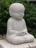 Statue de moine bouddhiste image libre de droits