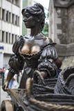 Statue de Molly Malone à Dublin photographie stock