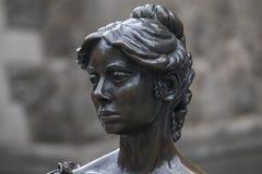 Statue de Molly Malone à Dublin image stock