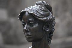 Statue de Molly Malone à Dublin photographie stock libre de droits