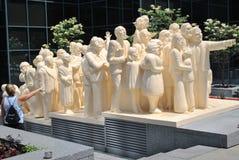 Statue de Montréal photographie stock