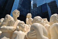 Statue de Montréal image libre de droits