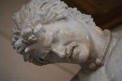 Statue de mort célèbre de la Gaule image stock