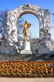 Statue de Mozart Image stock