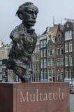 Statue de Multatuli Photographie stock