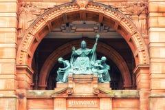 Statue de mungo de St photographie stock libre de droits