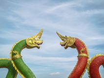 Statue de Naga photo stock