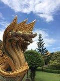 Statue de Naga Photo libre de droits
