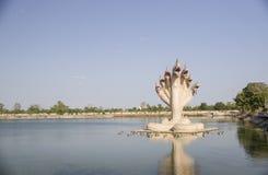 Statue de Naga Photographie stock