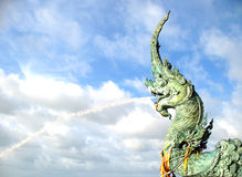 Statue de naga Photo stock