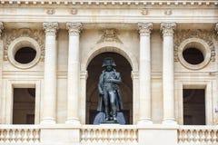 Statue de Napoleon Bonaparte, Les Invalides, Paris, France Images stock