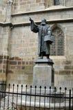 Statue de noir de Brasov Images libres de droits