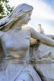 Statue de paix au parc de paix de Nagasaki Images libres de droits
