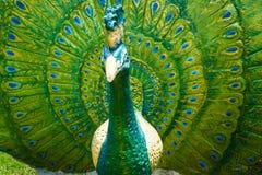 Statue de paon Image stock