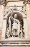 Statue de pape Gregory image libre de droits