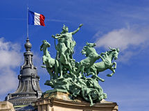 Statue de Paris Images stock