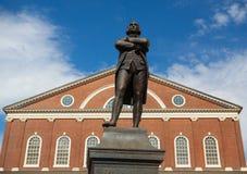 Statue de patriote révolutionnaire, Samuel Adams Photos libres de droits