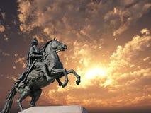Statue de Peter Photos libres de droits