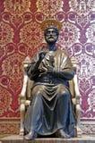 Statue de Peter de saint photo libre de droits