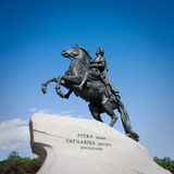 Statue de peter le grand Photographie stock
