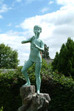 Statue de Peter Pan, Kirriemuir, Ecosse Images stock