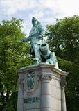 Statue de Peter Wessel Tordenskjold Photo libre de droits