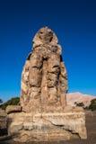 Statue de pharaon Amenhotep III, Louxor, Egypte Photos libres de droits