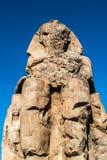Statue de pharaon Amenhotep III, Louxor, Egypte Photo libre de droits