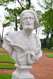 Statue de philosophe Diogenes du grec ancien de Sinope Images stock
