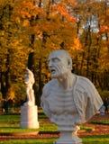 Statue de philosophe romain antique Seneca image libre de droits
