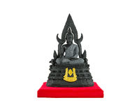 Statue de PHRA PHUTTHA CHINNARATH d'isolement sur le fond blanc Image libre de droits