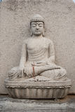 Statue de pierre de Bouddha Photos stock