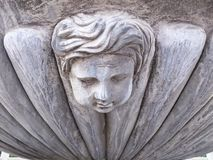Statue de plâtre Photographie stock