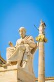 Statue de Platon photo libre de droits