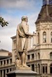 Statue de poète écossais Robert Burns Photo libre de droits