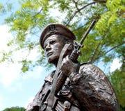Statue de policier de sécurité d'armée de l'air des États-Unis Images stock