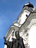 Statue de Pope John Paul Ii Image stock