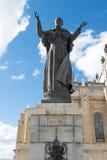 Statue de Pope John Paul Ii Images libres de droits