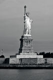 Statue de port de New York de liberté Image stock