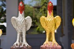 Statue de poulet Photo stock