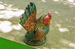 Statue de poulet Image stock