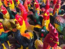 Statue de poulet Photographie stock