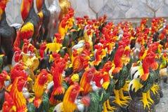 Statue de poulet en Thaïlande Image stock