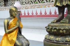 Statue de prière photographie stock libre de droits