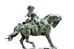 Statue de prince Eugene de la Savoie à Budapest Images libres de droits