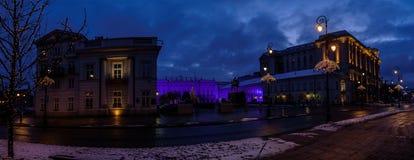 Statue de prince Jozef Poniatowski à Varsovie Photos libres de droits